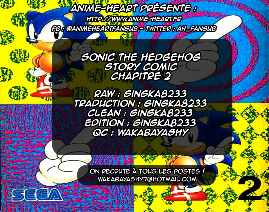 Scantrad - Sonic the Hedgehog Story Comic Chapitre 2