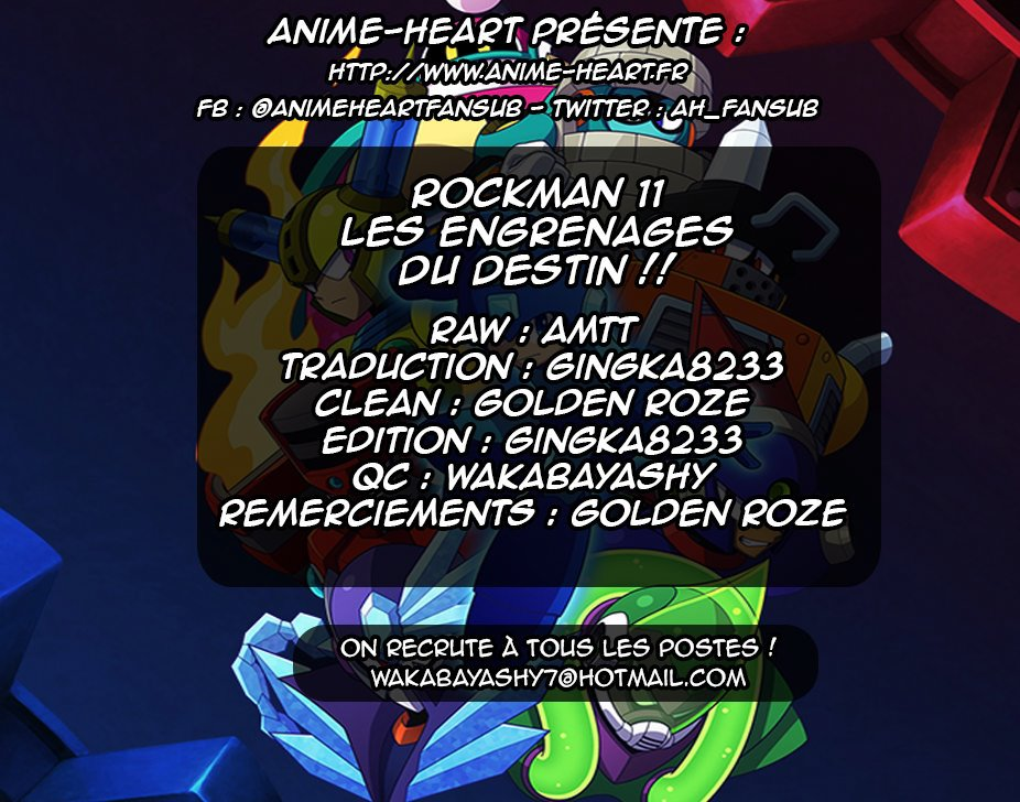 Scantrad - Rockman 11 - Les Engrenages du Destin !!