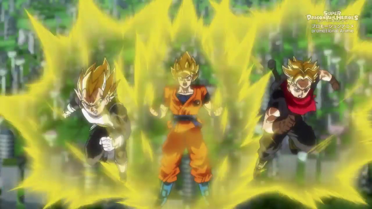 Fansub - Super Dragon Ball Heroes - Universe Mission Episode 12